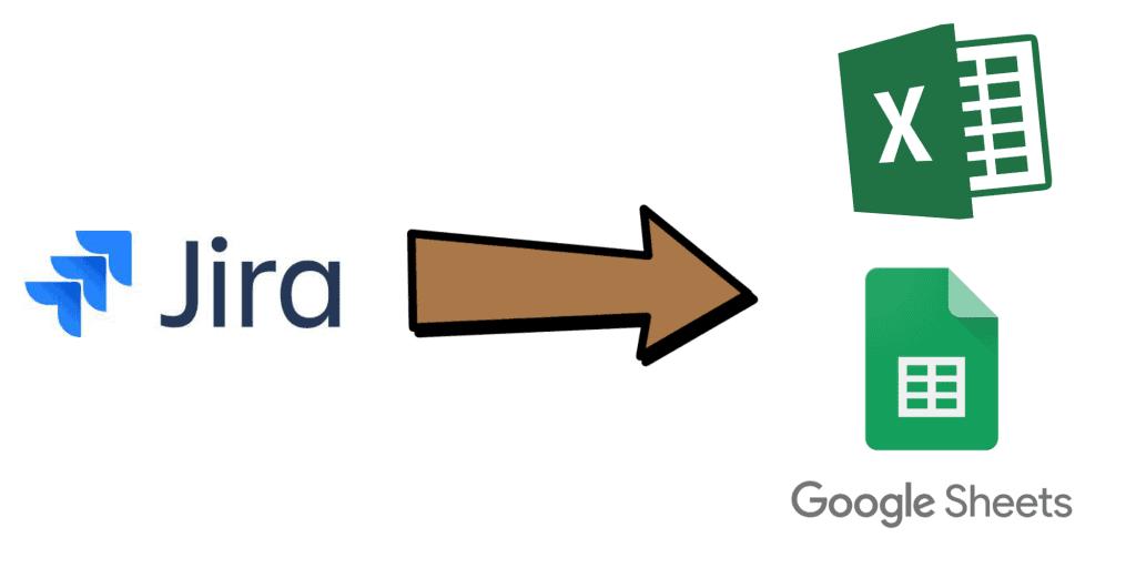 Exporting Jira Data to Google Sheets and Excel Header