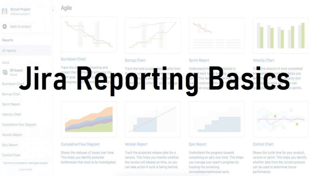 Jira Reporting Basics Header Image