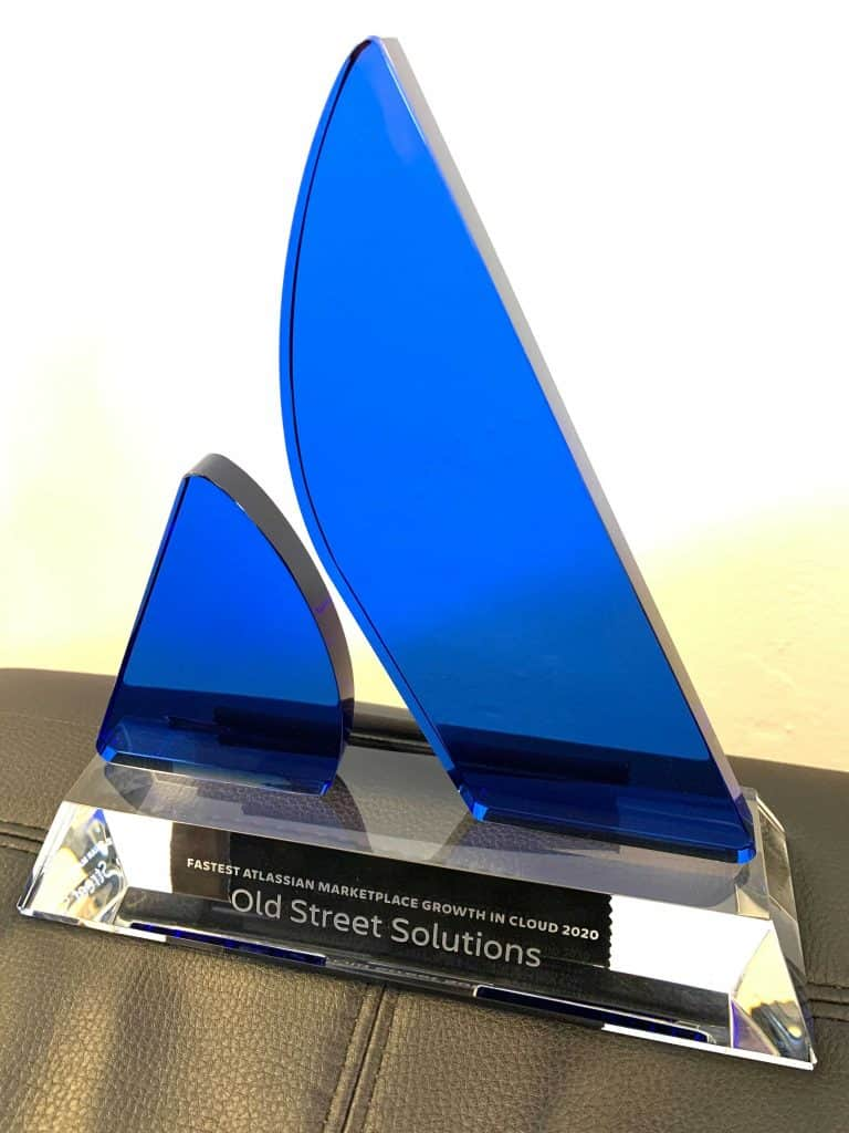 Old Street Solutions Award Fastest Growing Cloud Partner 2020