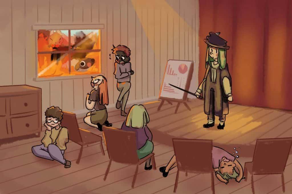 Illustration for dragon story 4